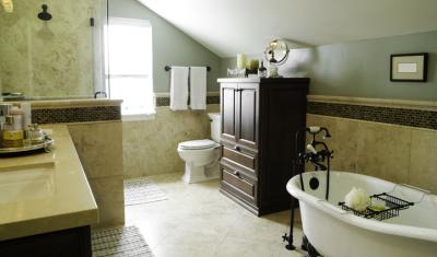 bathroom lofted victorian