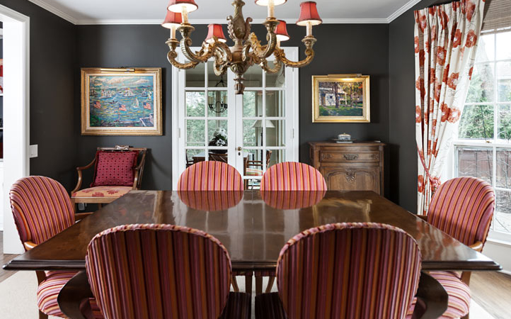 dining room vintage chic