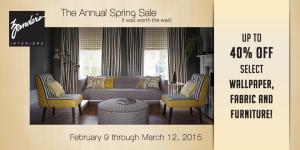 Zander's Interior Design Spring Sale in Madison, WI
