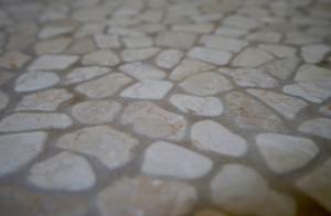 Blank Slate Bathroom Floor Detail