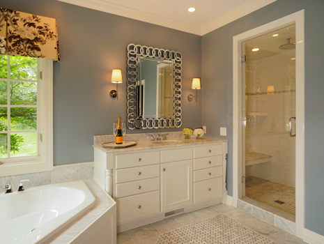 Switching it Up - Master Bath, Tub and Shower