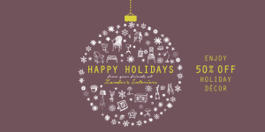 Holiday Interior Design Sale