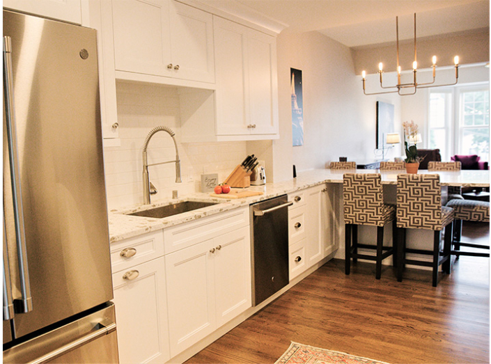 Downtown Madison Home Kitchen
