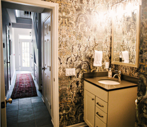 Downtown Madison Home Powder Room