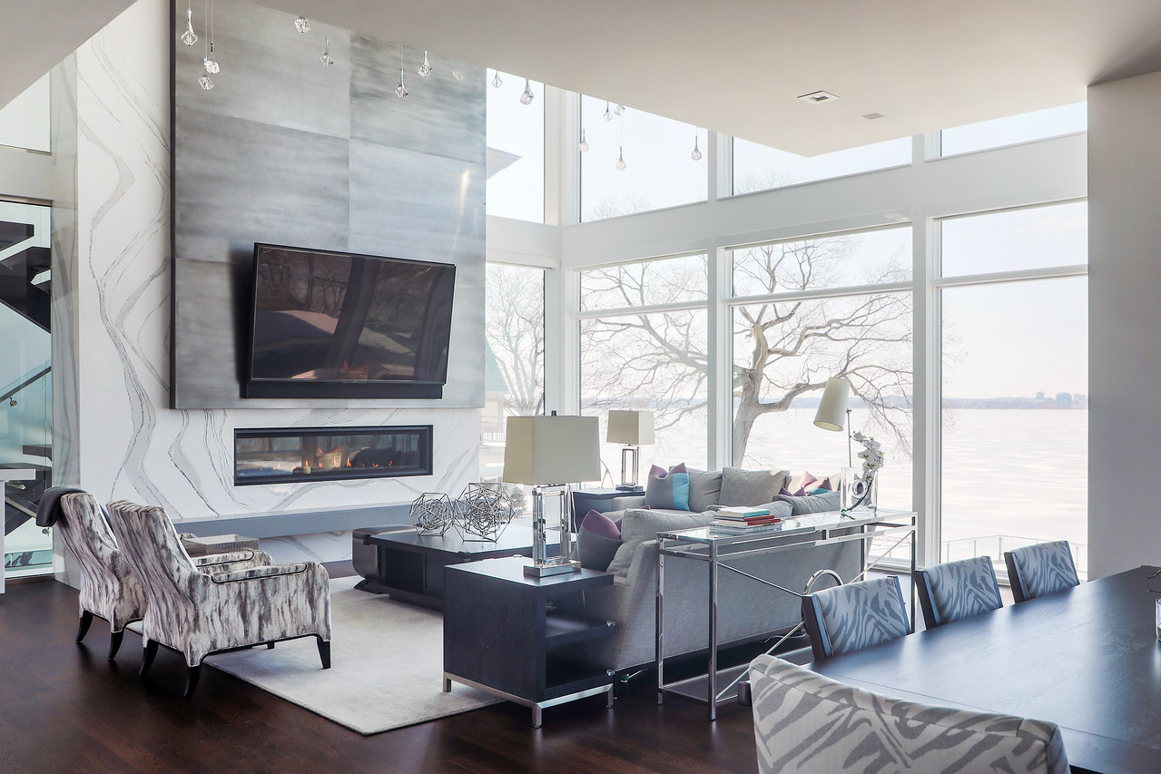 Living room with a view.